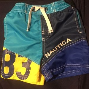 Baby Boys Nautica board shorts/trunks 6-12 months